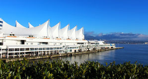 Port d'endroit de Canada à Vancouver Photo libre de droits