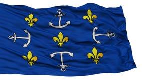 Port d'isolement Louis City Flag Photo stock