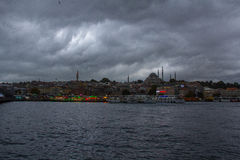 Port d'Istanbul Fatih Images stock