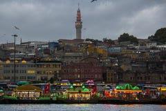 Port d'Istanbul Fatih Images libres de droits