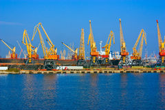 Port d'Odessa Image stock