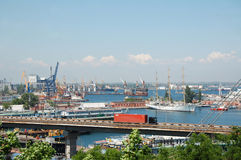 Port d'Odessa Photographie stock
