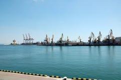 Port d'Odessa Photos libres de droits