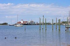 Port d'Okracoke Image stock