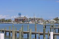 Port d'Okracoke Image libre de droits