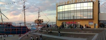 Port d'Osaka, Osaka, Japon Photos stock