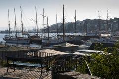 Port d'Oslo Images libres de droits