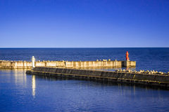 Port d'utoro du Hokkaido chez le Japon Photos stock