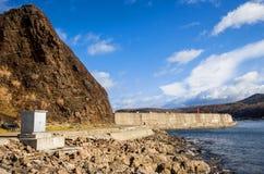 Port d'utoro du Hokkaido chez le Japon Image libre de droits