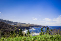 Port d'utoro du Hokkaido chez le Japon Photographie stock libre de droits