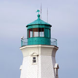 Port Dalhousie top of lighthouse 2016 Stock Images