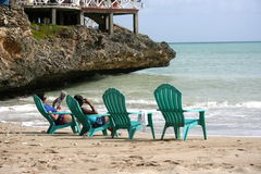 Port Salut, Haiti. Royalty Free Stock Images