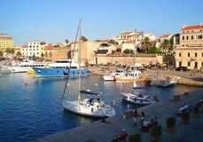 Port dans Algero Image stock