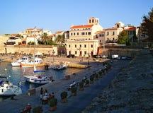 Port dans Algero Photos stock