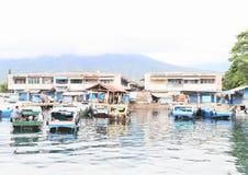 Port dans Bitung Photographie stock libre de droits