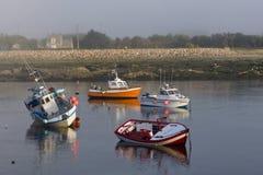 Port dans Bretagne photographie stock