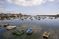 Port dans Bretagne photos stock