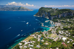 Port dans Capri, Italie Photo stock
