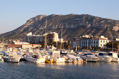 Port dans Denia Photos stock