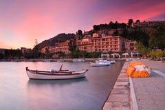 Port dans Nafplio, Grèce Photos libres de droits