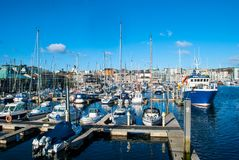 Port dans Plymouth photos stock