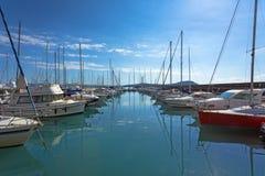 Port dans Talamone Photographie stock libre de droits