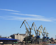 Port dans Vyborg Image stock