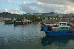 Port of Dapa Royalty Free Stock Photography
