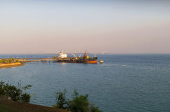 Port of Darwin Royalty Free Stock Images