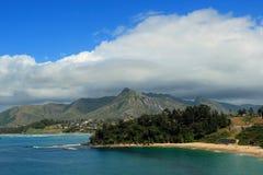 Port Dauphin in MAdagascar. Panoramic landscape in Port Dauphin, Madagascar, Africa Royalty Free Stock Photo