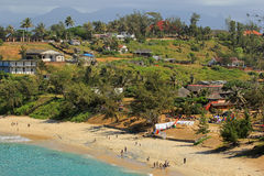 Port Dauphin in MAdagascar. Panoramic landscape in Port Dauphin, Madagascar, Africa Stock Photo