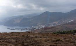 Port De Abrigo Hamn royaltyfri foto
