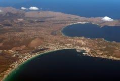 Port de Alcudia,马略卡 免版税图库摄影