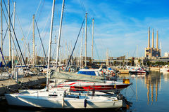 Port de Badalona Royalty Free Stock Image
