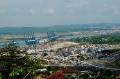 Port de Balboa, Panamá City, Panama Photographie stock libre de droits