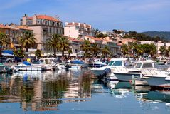 Port de Bandol Photo libre de droits