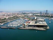Port de Barcelona Stock Images