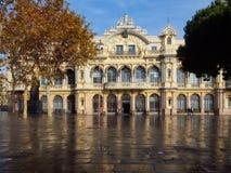 Port de Barcelona, Spanien Arkivfoton