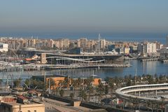 Port de Barcelone Photo stock