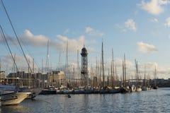 port de Barcelone Image stock