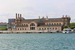 Port de Barcelone, Espagne Photos stock