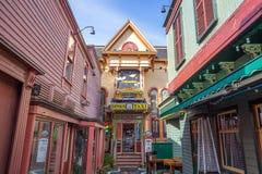 Port de barre dans Maine photographie stock