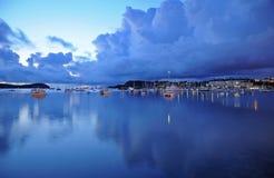 port de bateaux Photo stock