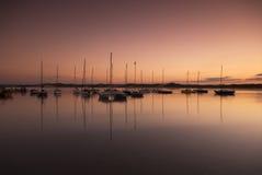 Port de Beadnell Images libres de droits