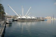 Port de Bigo en Gênes-Italie photographie stock libre de droits