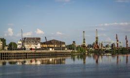 Port de Boca de La, Buenos Aires, Argentine photo libre de droits