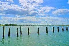 Port de Bosham LE SUSSEX OCCIDENTAL, ANGLETERRE photographie stock libre de droits