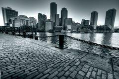 Port de Boston Photos stock