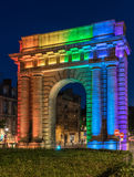 Port de Bourgogne. In Bordeaux south west France Royalty Free Stock Photos