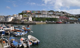 Port de Brixham Photo libre de droits